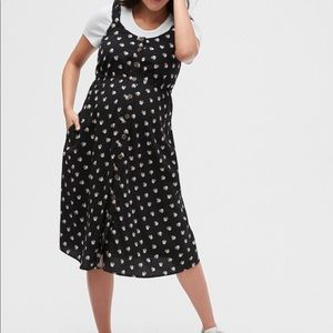 Maternity Button-Front Tank Dress
